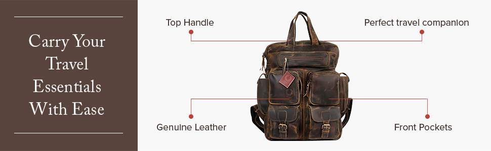 Carry travel essentials with ease