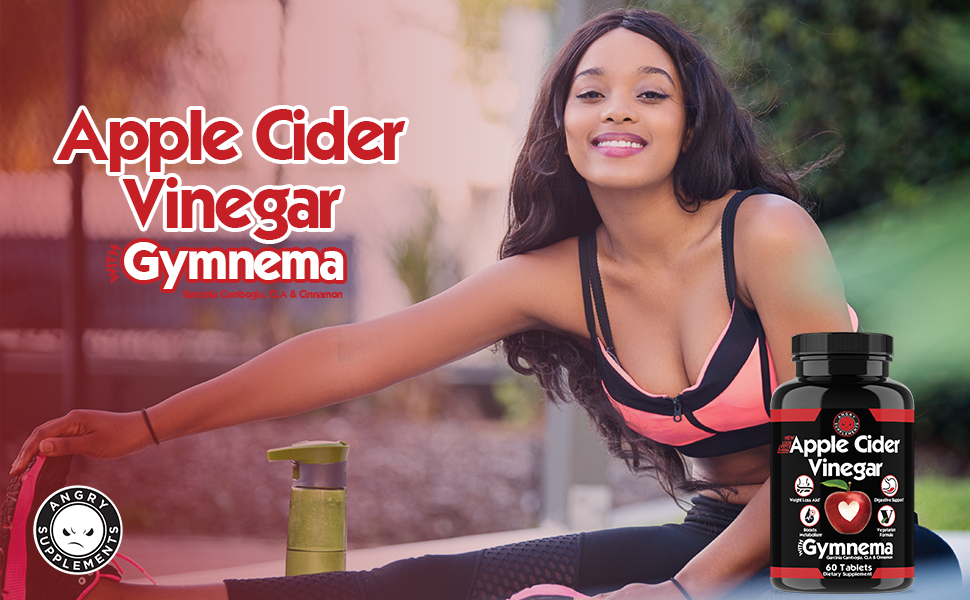 angry supplements apple cider vinegar with gymnema