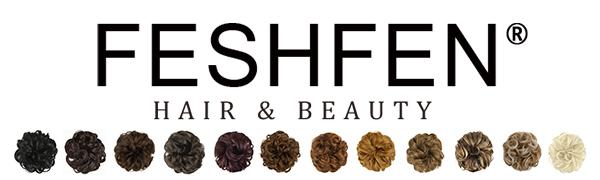 Estensioni di capelli sintetici per capelli Pezzi di capelli disordinati Ciambella per capelli Updo