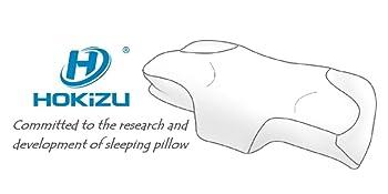 Memory foam pillow for sleeping, stomach sleeper pillow