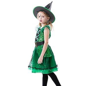 RJ Legend Green Witch Costume