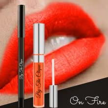 orange red lipstick lip stain pencil long lasting ultra wear
