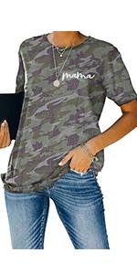 Mama Graphic Tee Shirt