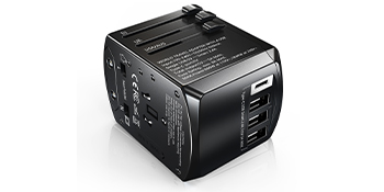 Gimars travel plug adapter