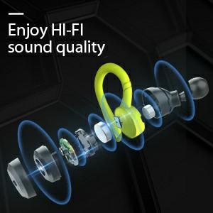 enjoy music with Hi-Fi sound Music