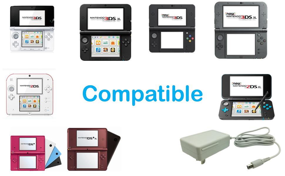 AC Adapter Nintendo 3ds 2ds dsi xl