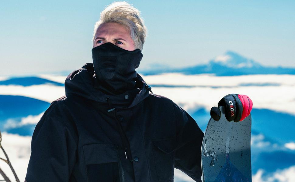 meteor Pasamonta/ñas Balaclava Termico para Ni/ños y Adolescentes para Invierno Ciclismo Moto Deporte Esqu/í Senderismo Snowboard al Aire Libre Proteger Cuello y Cara