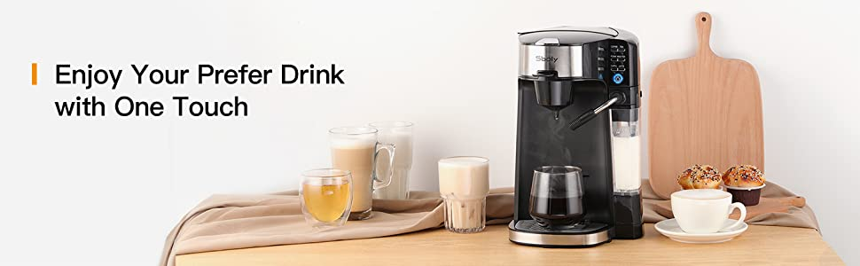coffee maker for latte latte machine maker brewer coffee maker with milk frother coffee machine