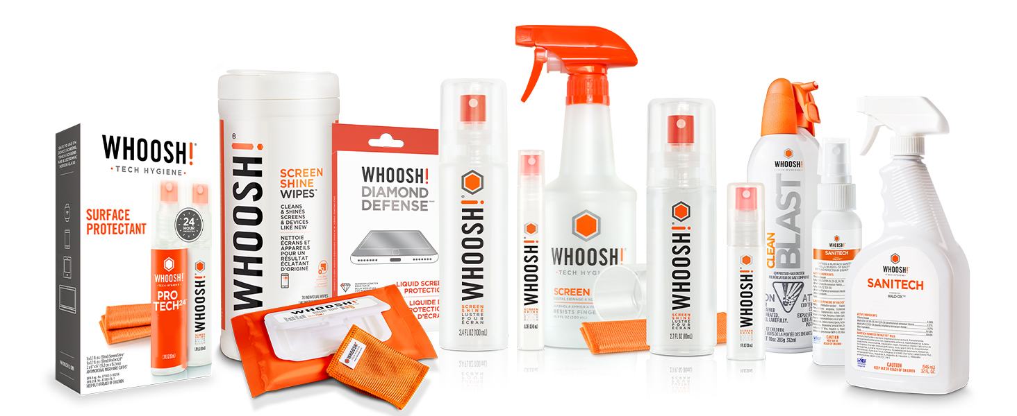 WHOOSH! Family of Products