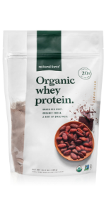 natural force chocolate organic whey protein