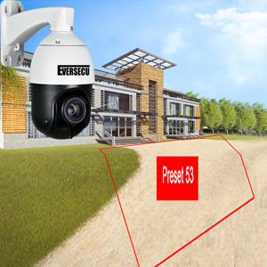 Outdoor auto tracking ip ptz surviellance camera