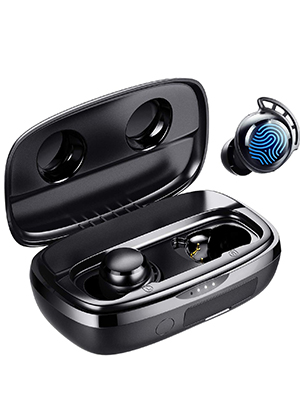 earphones with microphone touch earbuds wireless earbuds usb c charging wireless earbuds
