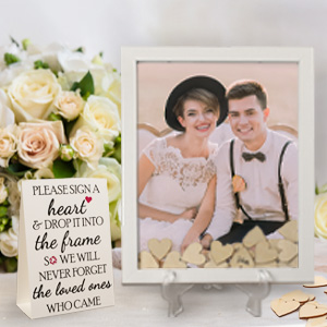 Guest book alternatives for wedding