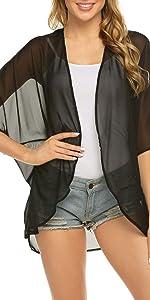 kimono cardigan coverups