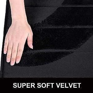 super soft velvet