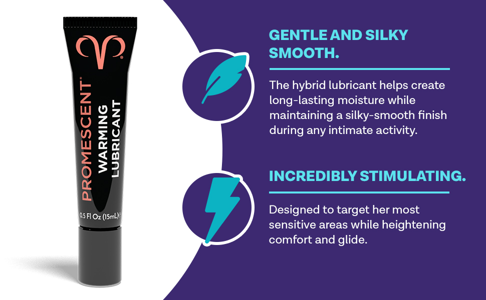hybrid lube creates more natural moisture for women and maintains a silky smooth finish