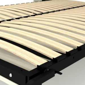 Slatted bed base