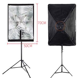 godox umbrella portable softbox 50 70 cm