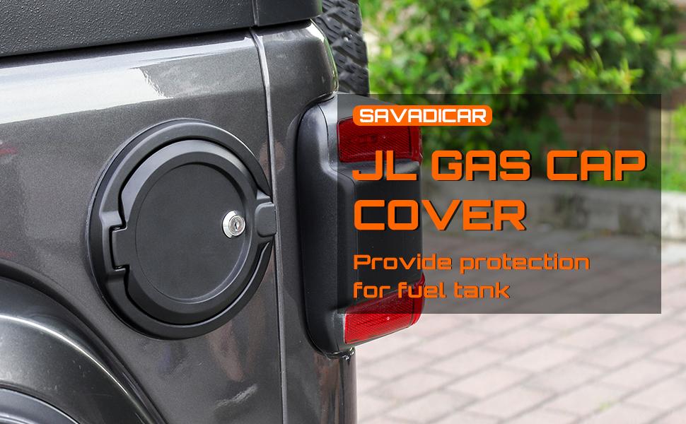 Jeep JL Locking Gas Cap Cover
