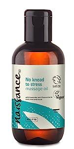No knead to stress massage oil