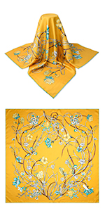 "35"" Mulberry Twill Silk Square Scarf"
