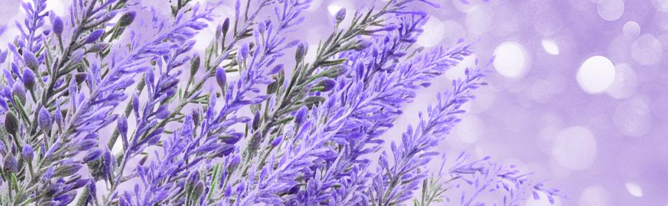 artificial lavender flowers