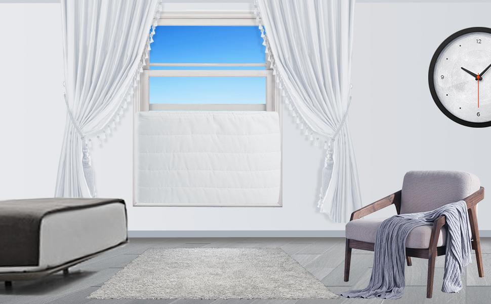 window indoor air conditioner cover