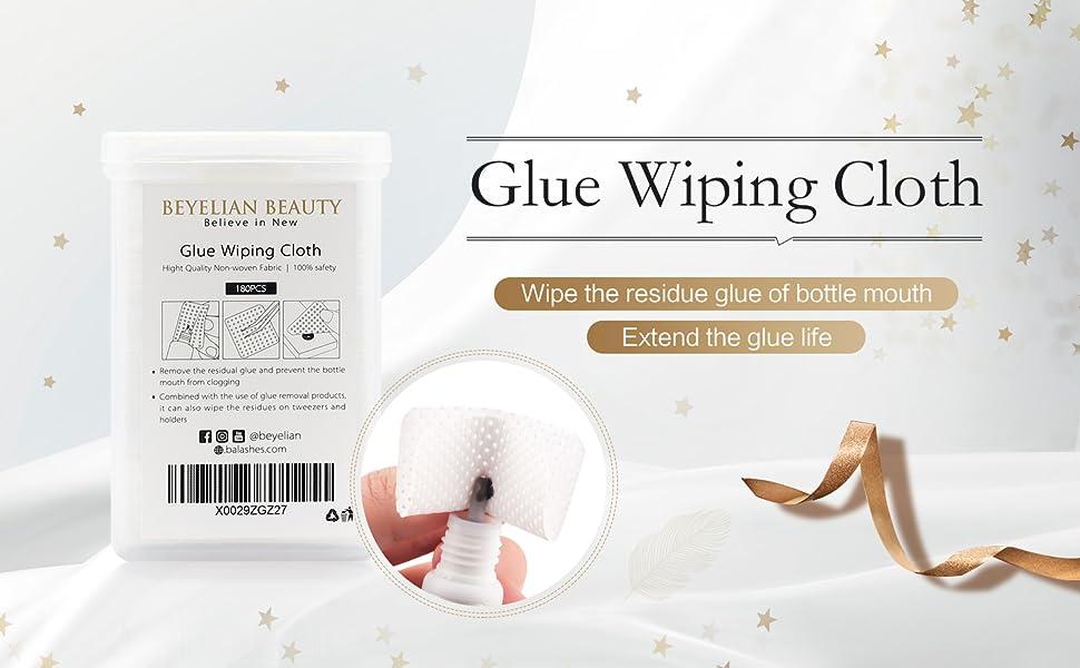Beyelian Glue Wiping Cloth  Banner