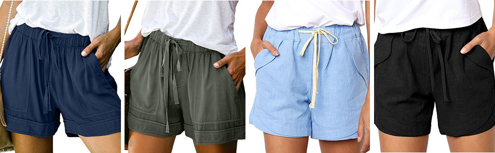 cotton shorts for women