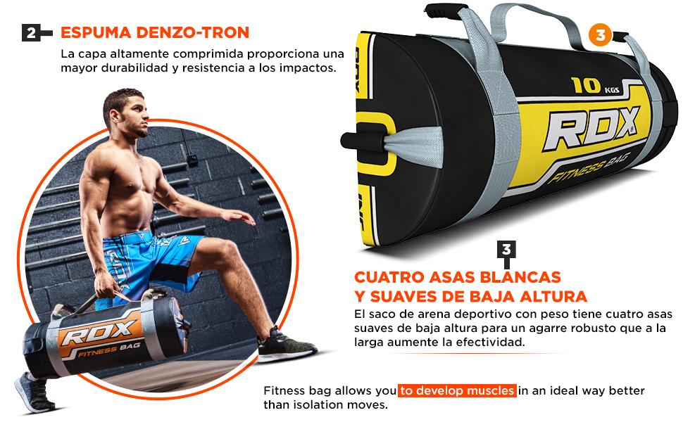RDX Sandbag Fitness Workout Saco Peso Power Bag Ejercicio ...