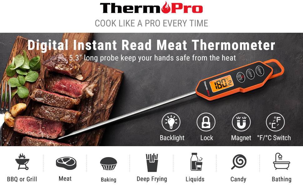 instant meat thermometer