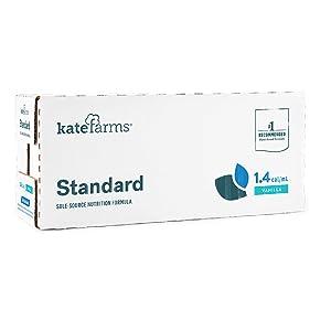 Box of Kate Farms Standard 1.4 Vanilla