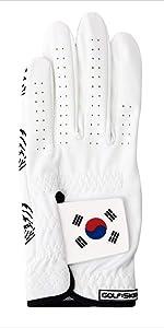 Korean Flag Deisgn golf gloves for men and women