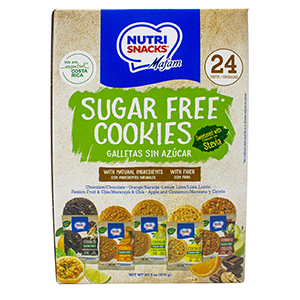 Sugar Free Cookies Nutrisnacks