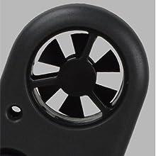 mini wind vane wind speed anemometer handheld