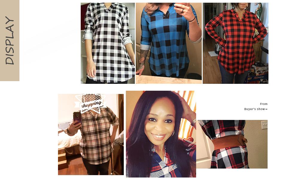 Plaid Shirts for Women 5