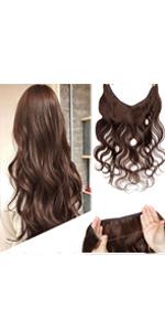 Wavy Hidden Wire Hair Extensions