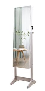 Frameless Free Standing Dressing Mirror