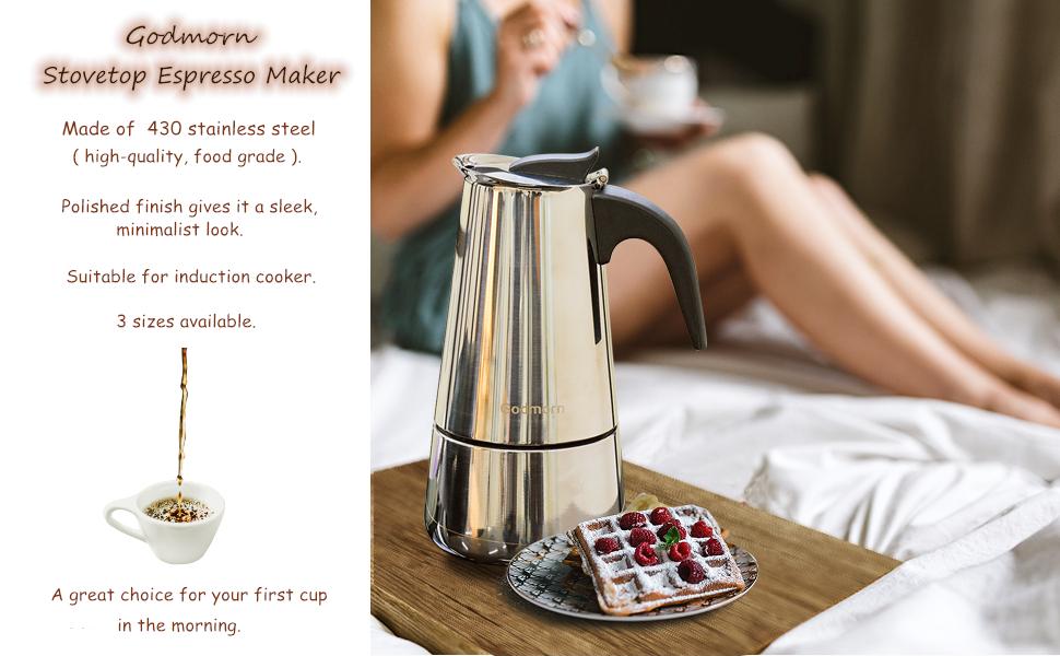 espresso kaffebryggare