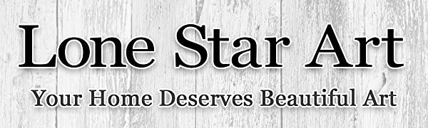 Lone Star Art Canvas Prints Metal Sign Artwork Personalized Wood Signs Art Home Decor Posters Scroll