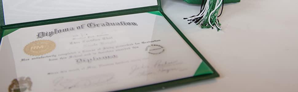 Titolare di certificato//cartelline blu navy