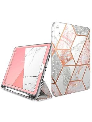 iPad 10.2 Case 2019, i-Blason [Cosmo] Full-Body Trifold Stand Protective Case Cover