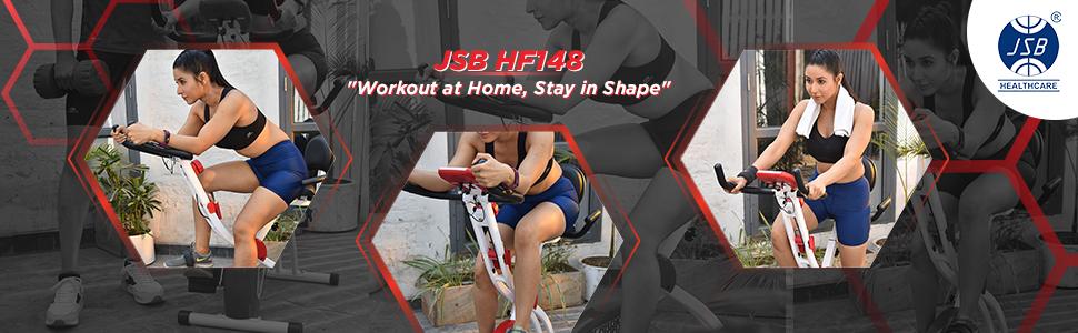 cardio max jsb hf148 fitness excerice bike