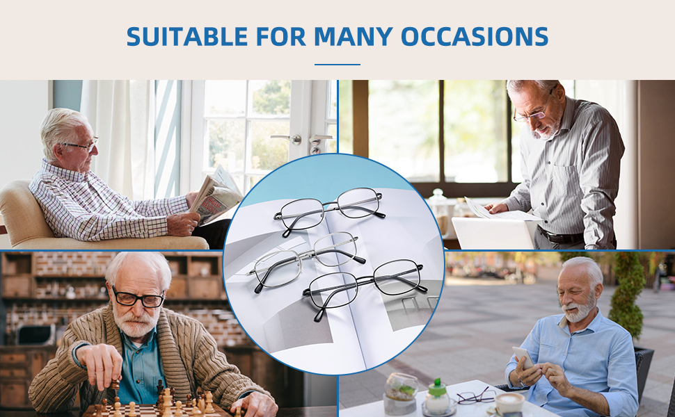 aiklly reading glasses  bring you a better world