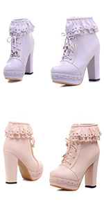 cute ankle boots for women high heel