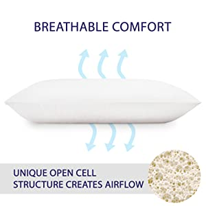 breathable pillows