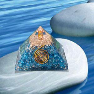 Orgone Pyramid Energy Healing Crystals Orgonite Pyramid