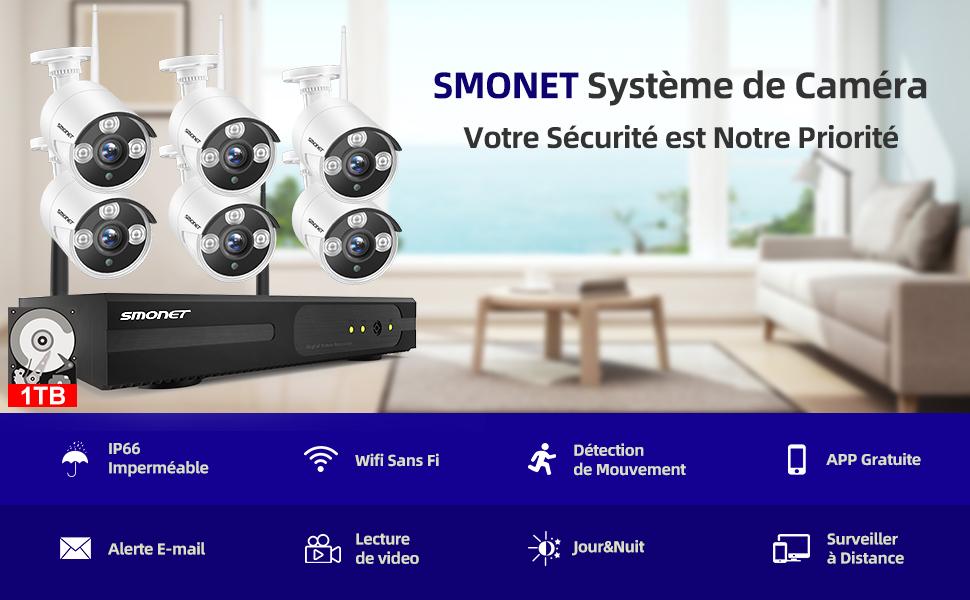 système caméra sans fil