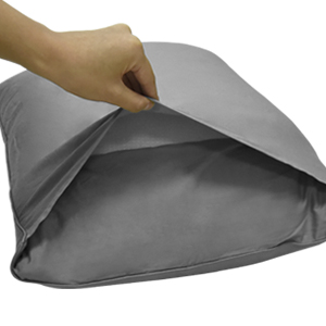 pillowcases standard grey