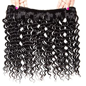 Deep Curly Wave Lace Closure